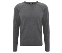 Pullover Strick Seiden-Anteil
