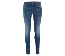 """Jeans """"3301 Deconstructed"""" Super Slim Fit Used-Look"""