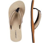 Sandale Natural Strap /schwarz
