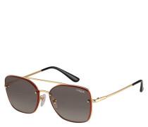 """Sonnenbrille """"VO4112S 0/11"""" Filterkategorie 2 Piloten-Stil eckig"""