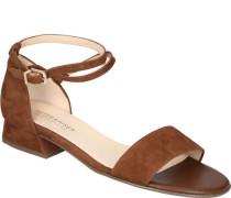 Sandale, matte, Riemchen,