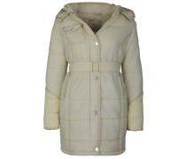 Mantel mit abnehmbarer Kapuze + Gürtel