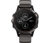 "Smartwatch fenix® 5 Plus Sapphire DLC Titanium ""010-01988-03"""