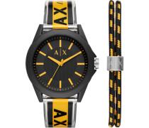 """Herrenuhr """"AX7114"""" mit Armband"""