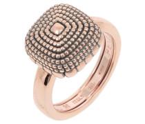 Ring, 925 Sterling Silber, PVD Roségold, antik WPXLA483M