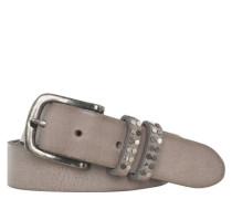 Gürtel Leder Nieten Used-Optik