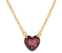 "Kette ""La Diamantine Plum Heart"" AILD353/1 vergoldet"