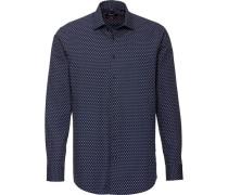 Businesshemd, 1/1-Arm, Kent, Modern Fit, /bordeaux, 44