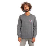Sweatshirt, ogo-Patch, Comfort Fit, reine Baumwoe