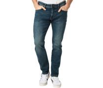 5 Pocket Jeans, für Herren, cast, W34/L34