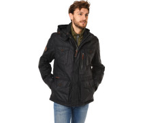 Jacke mit Kapuze, 2in1-Optik
