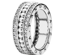 """Ring """" Logo 190962CZ"""", 925er , 58"""