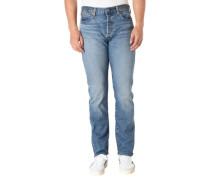 Jeans Regular Fit Stretch Knopfleiste