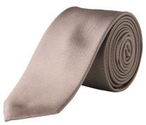 Krawatte reine Seide schmaler Schnitt