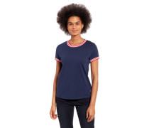 T-Shirt Streifen-Design reine Baumwolle
