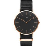 "Armbanduhr Classic Black Cornwall ""DW00100148"""