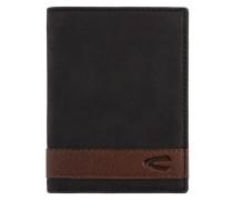 Taipeh Geldbörse RFID Leder 9 cm, schwarz