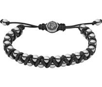 """Armband Stackables """"DX1109040"""" Leder/Edelstahl"""