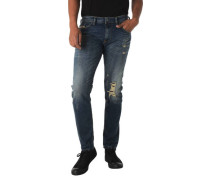 """Jeans """"Thommer"""" Slim Fit Stretch Destroyed-Look"""