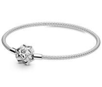 "Armband Bright Snowflake ""598616C01"", 925er , 17"