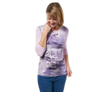 Shirt 3/4-Arm Front-Print
