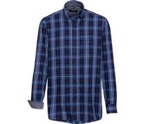 Karo-Freizeithemd, 1/1 Arm, Button-Down, Comfort Fit