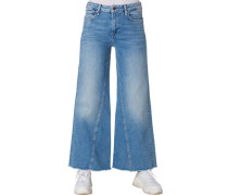 "Jeans ""Hailey"", 7/8-Länge, Crop Wide Leg, für Damen, 28/30"