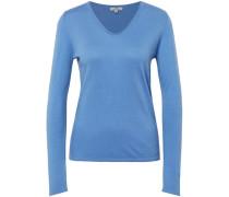 Pullover, V-Ausschnitt, hellblau, XL