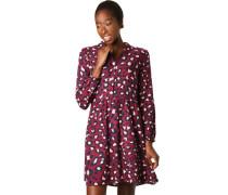 Kleideo-Print, Blusenkragen, für Damen, /weiß