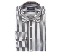 Businesshemd gestreift Kent-Kragen Comfort Fit