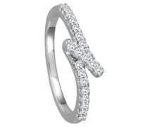 Ring 585  mit 21 Diamanten, zus. ca. 0,20 ct.