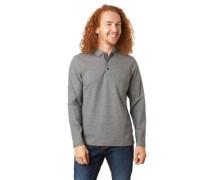 Polo-Shirt, reine Baumwolle, langarmtruktur-Muster