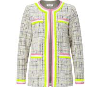 Tweed Jacke, Neon-Akzente, , für Damen, L