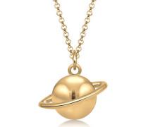 Halskette Astro Planet Saturn Universum 5 Sterling Silber