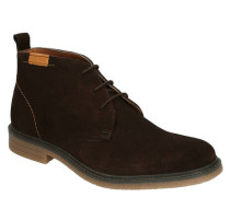 Boots, Wildleder, Patch, Kontras-Detail