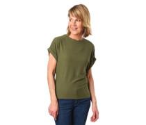 T-Shirt überschnittene Ärmel uni Band zum binden