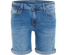 "Jeansshort ""Poppy"", Regular Fit, Umschlag-Saum,"