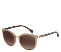 "Sonnenbrille ""EA  1313"" Cateye-Look Farbverlauf Filterkategorie N"