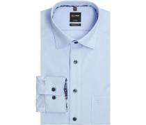 Businesshemd, 1/1Arm, Kentkragen, modern fit, für Herren, hell