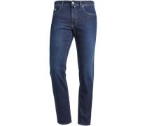 Stretchjeans Tapered Fit dark- blue W34/L30