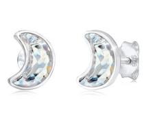 Ohrringe Stecker Halbmond Swarovski® Kristalle 5