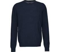 Cashmere-Pullover mit Rundhalsausschnitt,