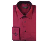 Businesshemd Comfort Fit Kent-Kragen bügelfrei reine Baumwolle