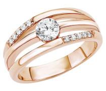 Ring 5 Sterling Silber rosévergoldet