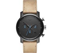 "Armbanduhr ""Gunmetal Sandstone"" MC02-GML, Chronograph"