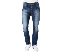 "Jeans ""Toronto"" Tapered Fit Low Waist Wide Leg"