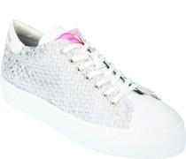 """Sneaker """""""", Plateau-Sohle, Glitzer-Effekt,"""