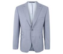 Sakko als Anzug-Baukasten-Artikel, Wolle, Einreiher, Zierstiche, Gehschlitze