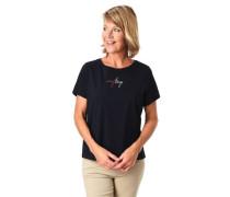 T-Shirt Schriftzug unifarben