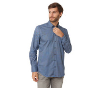 Freizeithed, Button-Down-Kragen, Allover-uster